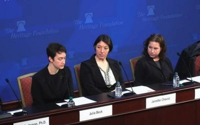 Lesbian feminist Julia Beck Slams the Equality Act: 'H.R. 5 Is a Human Rights Violation'