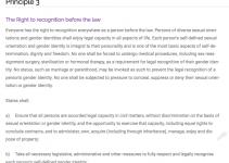 The Yogyakarta Principles: women's rights were not considered